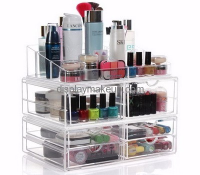 Factory wholesale acrylic mac makeup stand cosmetic organiser 6 ...