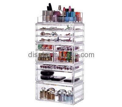 Custom Clear Acrylic Storage Boxes Cosmetic Storage Containers Clear