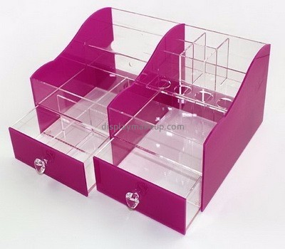 Factory hot selling acrylic makeup organizer with drawers  DMO-057