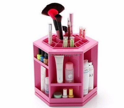 Wholesale acrylic 360 rotating makeup cosmetic organiser DMO-073