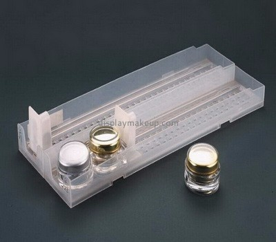 Factory direct sale acrylic shelf pusher system for cosmetic DMD-015