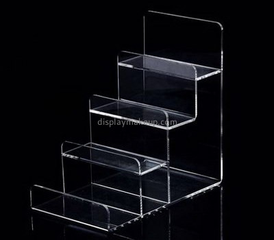 Hot selling acrylic perspex stands cosmetic display shelves display counter for sale DMD-151