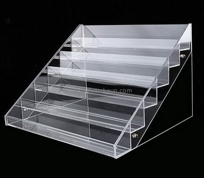 Custom design acrylic table display stands cosmetics display stands cheap retail displays DMD-226
