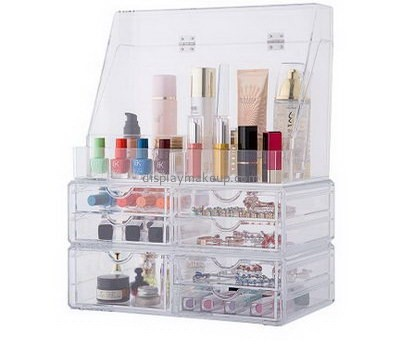 Custom acrylic makeup storage case beauty organizer acrylic drawer organizer DMO-155