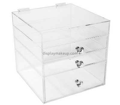 Custom acrylic makeup containers organizers perspex makeup drawers acrylic makeup storage drawers DMO-193