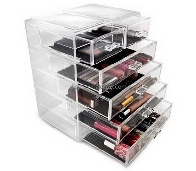 Custom container store makeup storage acrylic makeup storage drawers cheap makeup organizer drawers DMO-203