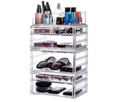 Customized clear makeup organizers cosmetic drawer organizer countertop cosmetic organizer DMO-206