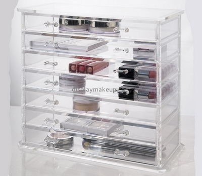 Customized makeup acrylic drawers makeup organisers cosmetic case DMO-207