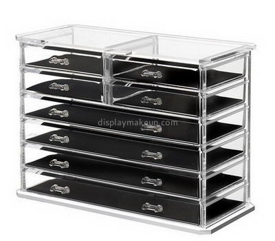 Custom cheap makeup box organizer makeup organizer cheap clear makeup case DMO-225