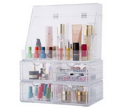 Custom acrylic drawers cheap makeup storage containers vanity makeup organizer DMO-247