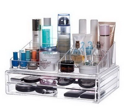 Customized acrylic makeup organizers clear makeup organizer cheap drawer makeup organizer DMO-248