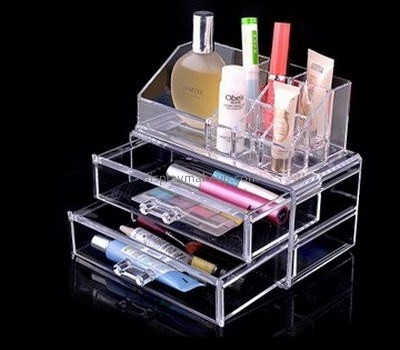 Plexiglass company customize and wholesale acrylic display cases desk drawer organizer DMO-549