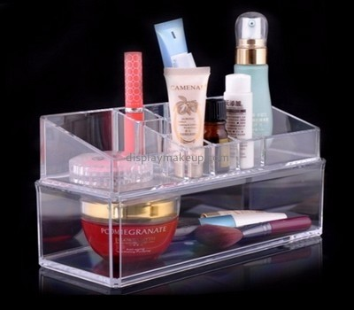 Perspex manufacturers customize makeup container tabletop cosmetic organizer DMO-588