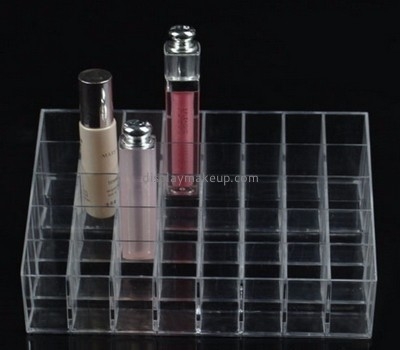 Makeup display stand suppliers customize retail store supplies wholesale acrylic lipstick holder DMD-287