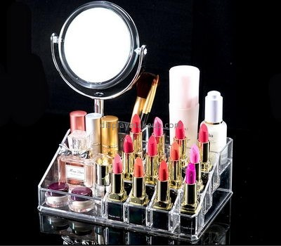 Acrylic display stand manufacturers customized clear lipstick holder display in store DMD-360