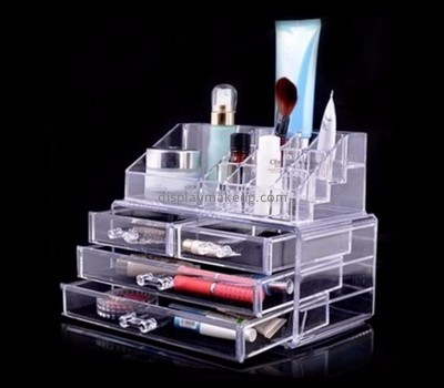 Acrylic display manufacturers customized acrylic drawer box organizer DMO-618