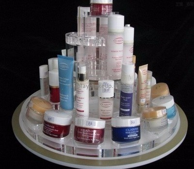 Makeup display stand suppliers customized acrylic cosmetic store display stand DMD-446