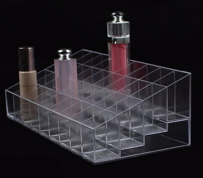 Display stand manufacturers customized clear cosmetic retail display DMD-539