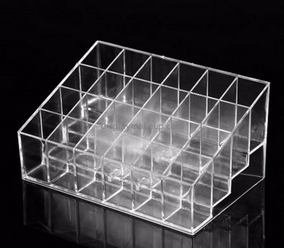 Acrylic plastic supplier customized clear acrylic lipstick display holder DMD-618
