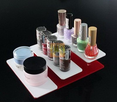 Clear acrylic supplier custom acrylic makeup products display DMD-798