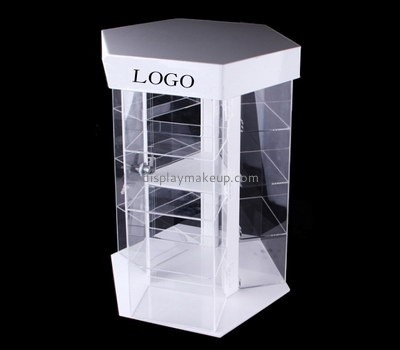 Display stand manufacturers custom plexiglass fabrication cosmetic cabinet DMD-808