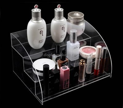 Acrylic items manufacturers custom acrylic risers tiered shelf display DMD-983
