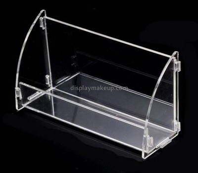 Cosmetic display stand suppliers custom acrylic mask holder DMD-986