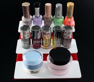 Bespoke acrylic makeup tiered stand DMD-1474