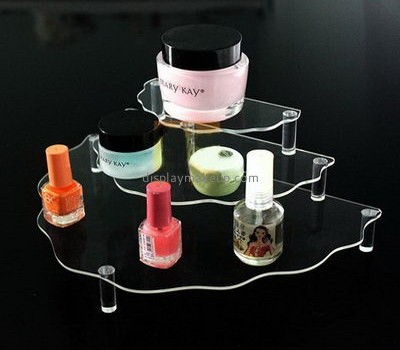 Bespoke clear acrylic makeup display DMD-1479