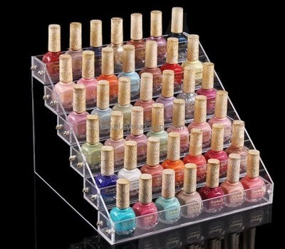 Customize clear acrylic nail polish display DMD-1585