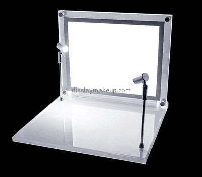 Customize acrylic shop counter display stand DMD-1595