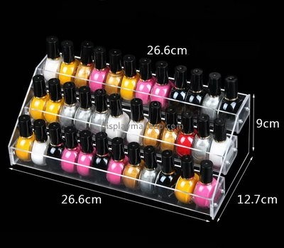 Customize clear acrylic nail polish finger holder DMD-1662