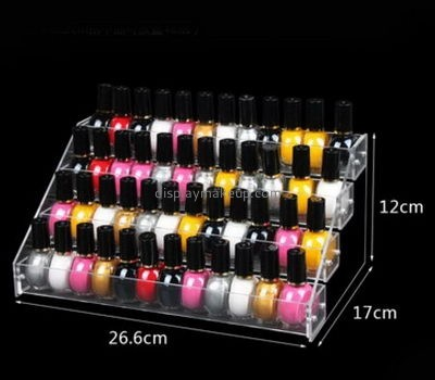 Customize clear acrylic nail polish bottle holder DMD-1661