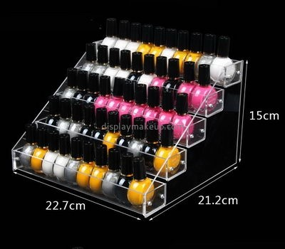 Customize clear acrylic opi nail polish holder DMD-1664