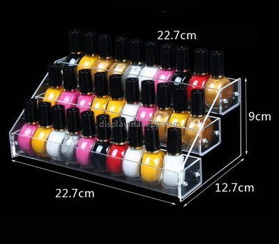Customize lucite clear nail polish holder DMD-1666