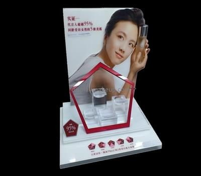 Customize perspex cosmetic store display DMD-1793