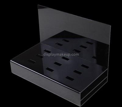 Customize retail plexiglass pedestal stand DMD-1886