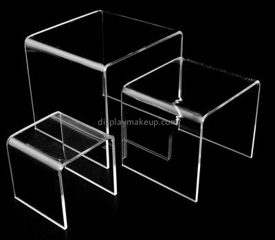 Customize acrylic display stand riser DMD-1929