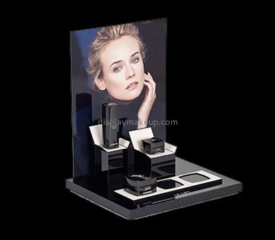 Customize lucite skin care display stands DMD-1978