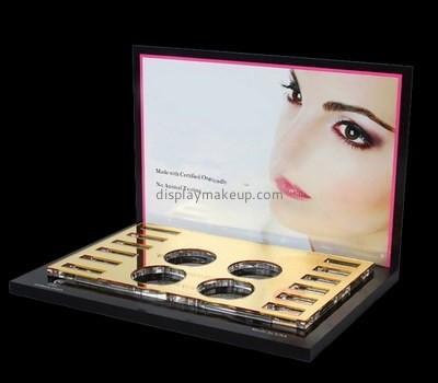 Customize acrylic mac makeup display DMD-2021