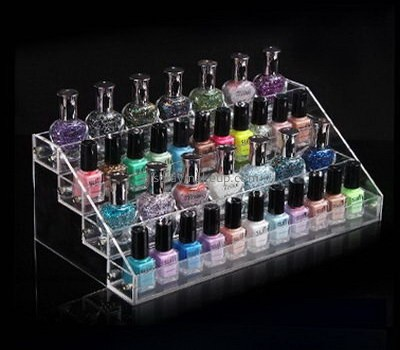 Customize clear acrylic nail varnish holder DMD-2038