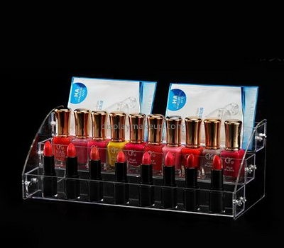 Customize plexiglass lipstick stand display DMD-2079