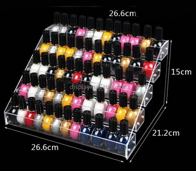 Customize clear nail polish case holder DMD-2107