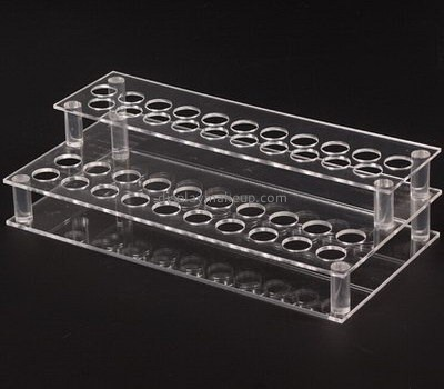 Customize clear tiered lipstick holder DMD-2130