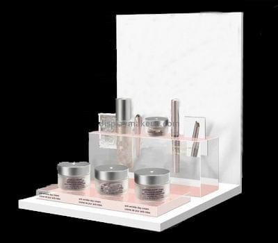 Customize retail acrylic cosmetic display stand DMD-2153