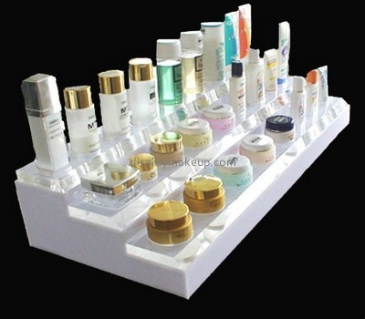Customize lucite tiered makeup stand DMD-2160