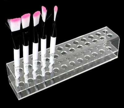 Customize retail acrylic cosmetic brush holder DMD-2168