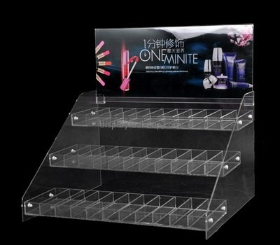 Customize lucite 3 tier display stand DMD-2202
