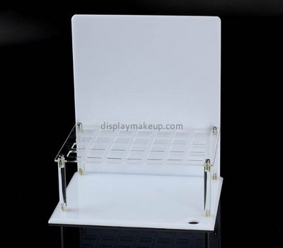Customize acrylic cosmetic display units DMD-2207