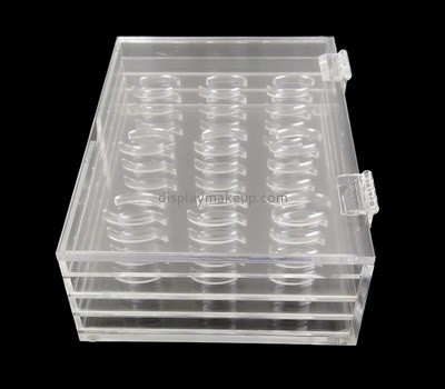 Customize lucite lash box organizer DMD-2217